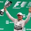 【F1 ブラジルGP】ロズベルグ今季5勝目、ハミルトンとのチームメイト対決を制する