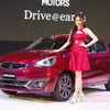 三菱 ミラージュ 改良新型、日本発売は1月中旬…タイ国際ショーで発表