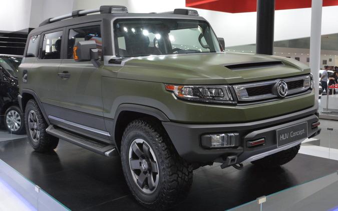 【北京モーターショー16】自主ブランドSUVを充実させる東風汽車グループ 画像