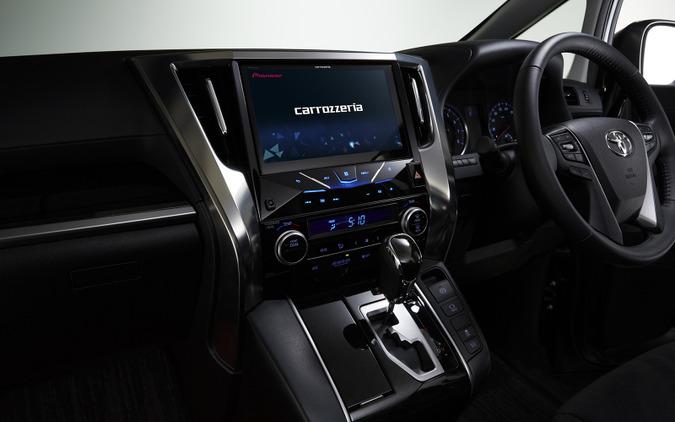 カロッツェリア サイバーナビ 刷新、10型液晶搭載の車種専用モデルも 画像