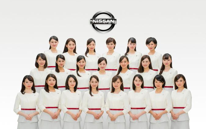 日産ミスフェアレディに新人8名…総勢21名の2016年度新体制発表 画像