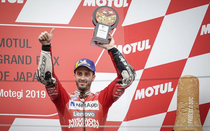 (c)Ducati 3位を獲得したドヴィツィオーゾ