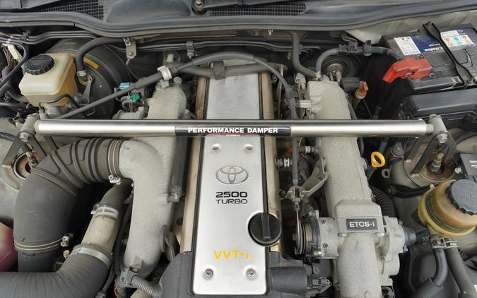 トヨタ『クラウンアスリートVX』(2001年)に搭載されたヤマハのパフォーマンスダンパー
