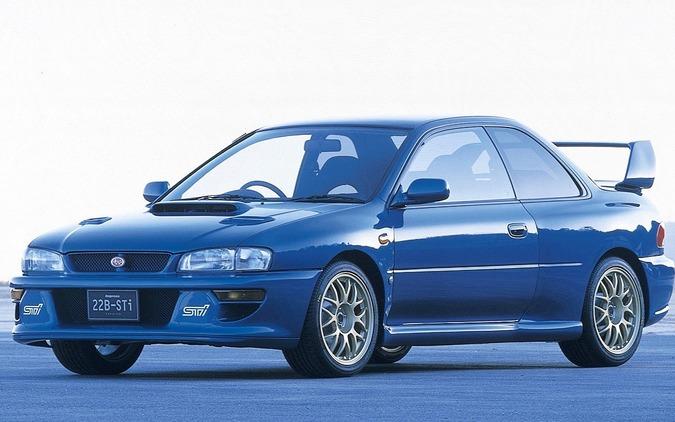 インプレッサ22B-STi バージョン(1998年)