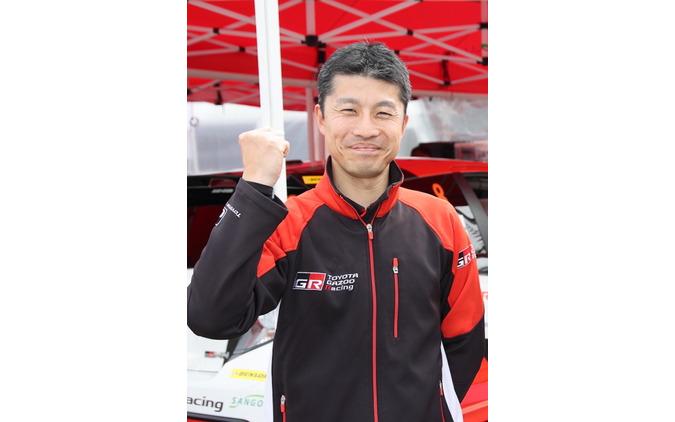 TOYOTA Gazoo Racingチーム眞貝知志さん