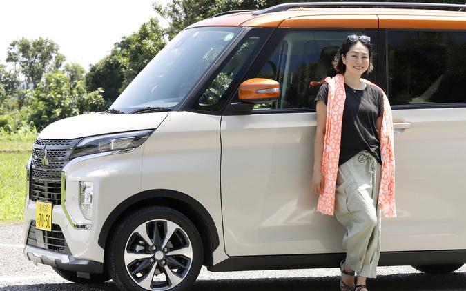 旅エッセイスト国井律子さんと三菱 eKクロス スペース