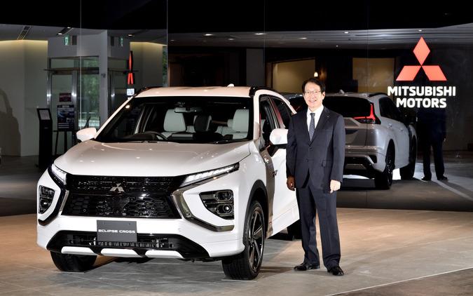 三菱自動車 加藤隆雄CEOと三菱 エクリプスクロス