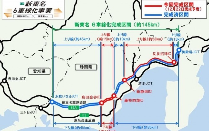 新東名6車線化