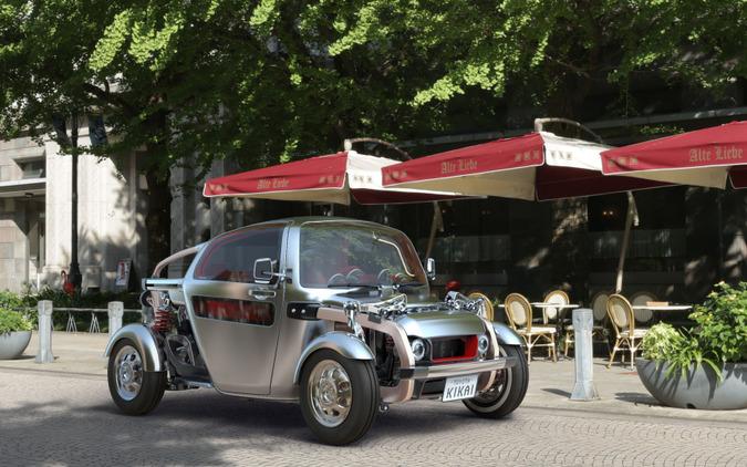 【東京モーターショー15】トヨタ KIKAI、人とクルマの新たな関係を構築するコンセプトカー 画像