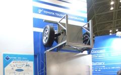 【EVEX & CSF 10】トヨタ系商社が中国製のEVパーツを集めると…!? 画像
