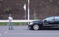 [動画]40km/hから自動ブレーキ…トヨタのプリクラッシュセーフティ 画像