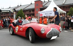 La Festa Autunno 2011、1200kmを走ったクラシックカーがゴール 画像