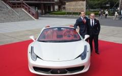 【フェラーリ 458スパイダー 日本発表】写真発表から1週間で完売…2011年納車分 画像