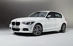 BMW 1シリーズ新型の頂点、M135i…5ドアにも設定 画像