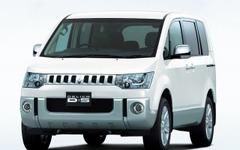 三菱 デリカD:5 一部改良、4WDモデルの燃費向上 画像