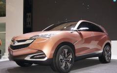 【上海モーターショー13】アキュラ コンセプト SUV-X …小型SUVを中国生産へ[詳細画像] 画像