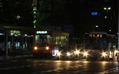 岡山電軌、消費税引き上げ後も運賃据え置き 画像