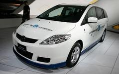 【東京モーターショー05】マツダ、プレマシー 水素RE を3年後に実用化 画像