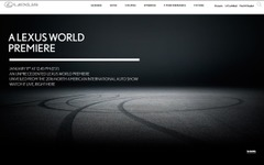 【デトロイトモーターショー16】レクサス謎のワールドプレミア、エンジン音を公開[動画] 画像