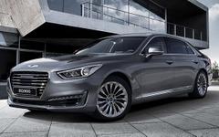 【デトロイトモーターショー16】ヒュンダイの高級車ブランド、ジェネシス …G90 初公開へ 画像