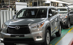 トヨタ北米生産、2.5%増の203万台…初の200万台超え 2015年 画像