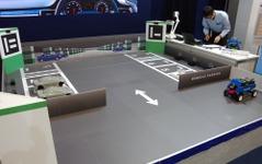 【オートモーティブワールド16】ルネサス、クラウド介した自動駐車管理システムのデモ初公開 画像