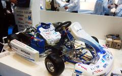 """【オートモーティブワールド16】東海エレクトロニクス、取引メーカーのデバイスで""""連合EVカート""""を作成 画像"""