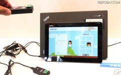 【ウェアラブルEXPO16】オムロンの「絶対圧センサー」…高低差を検知、見守りなどに活用 画像