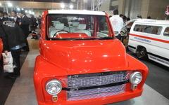 【東京オートサロン16】完成は2日前、学生23人で キューブ をアメ車に改造…静岡工科自動車大学校 画像