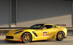 レーシングテイストの コルベット Z06、正規ディーラーで巡回展示 画像