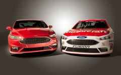 フォード、2016年型NASCARを発表…最新 フュージョン のイメージ反映 画像