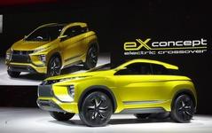 三菱の新型SUV、2017年と2019年に登場…RVR 後継車 画像