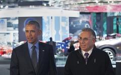 【デトロイトモーターショー16】オバマ大統領が初めて来場、自動運転車や先進技術を視察 画像