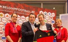 ブリュッセル航空、サッカーベルギー代表を20年までサポートへ…選手権中に臨時便も 画像