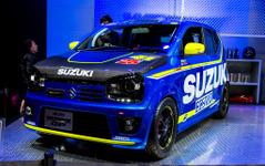 【東京オートサロン16】スズキ アルトワークス GP…MotoGP車両をモチーフに[詳細画像] 画像