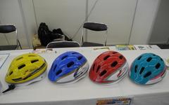 【町工場見本市16】新幹線デザインの子供用ヘルメット、予想以上の売れ行き…カナック企画 画像