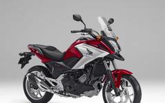 ホンダ NC750X、新型発売…LEDヘッドライト採用などスタイリング一新 画像