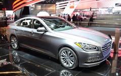 【デトロイトモーターショー16】ヒュンダイの高級車ブランド、ジェネシス …第二弾は「G80」 画像