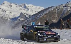 【WRC 開幕戦】VW セバスチャン・オジェ、ラリーモンテカルロ3連覇を達成 画像