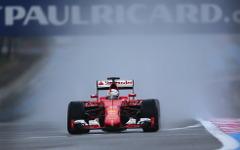 【F1】ピレリ雨用タイヤテスト、トップタイムはベッテル 画像