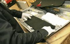 【プロショップへ行こう】スピーカー装着における匠の技術 パート5…内張りパネルの制振・吸音・遮音 画像