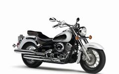 ヤマハ ドラッグスターシリーズ、2016年モデルを発売…新色ホワイトを追加 画像