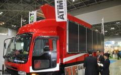 【ENEX16】4tトラックを改造したステージマシン、アーティストの間で引っ張りだこに 画像