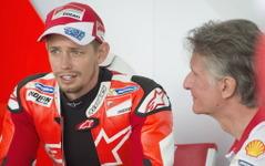【MotoGP】ケーシー・ストーナー、古巣ドゥカティのテストライダーに就任 画像