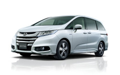 【ホンダ オデッセイ 改良新型】ハイブリッド追加…燃費は26km/L、356万円から 画像