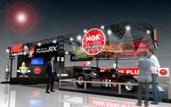 【大阪オートメッセ16】NGK、国産F1マシン「コジマ KE007」を展示 画像