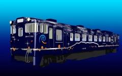 道南いさりび鉄道、漁り火イメージの特別車両「ながまれ号」導入 画像