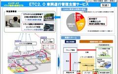 「ETC2.0 車両運行管理支援サービス」の社会実験を開始…12組17社 画像