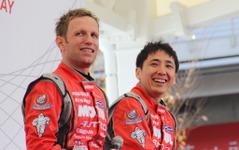 【大阪オートメッセ16】日産、SUPER GTチャンピオンたちがトークショーに登場 画像