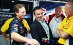 【F1】ゴーン社長、ルノーワークス復帰「まずはライバルとの差を縮める」 画像